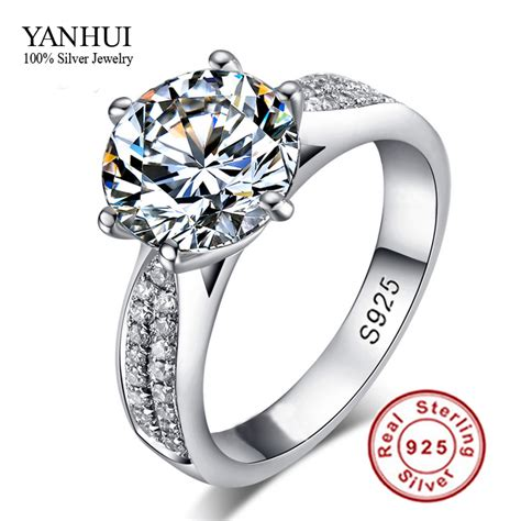 Wedding Rings Real Diamonds by Wedding Rings For Sterling Silver Real Diamonds Best