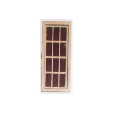 doll house materials 6 over 6 narrow window miniature windows dollhouse building materials