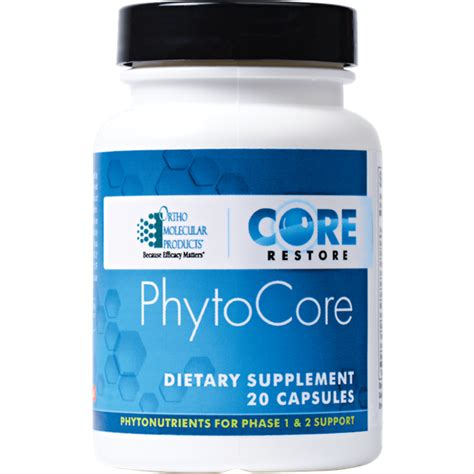 Orthomolecular Detox Program by Phytocore Ortho Molecular Products