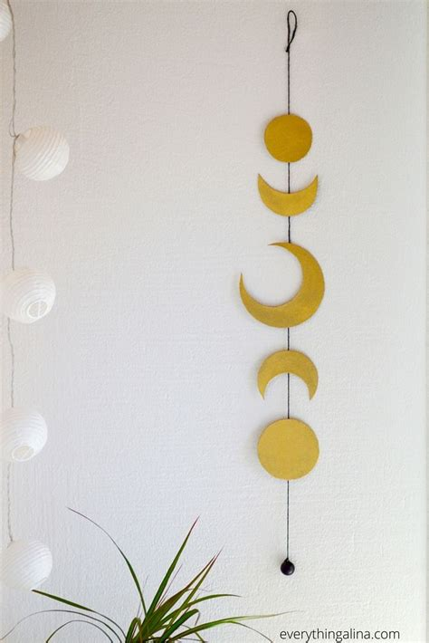 Hanging Moon Decoration by 17 Best Ideas About Bohemian Room Decor On