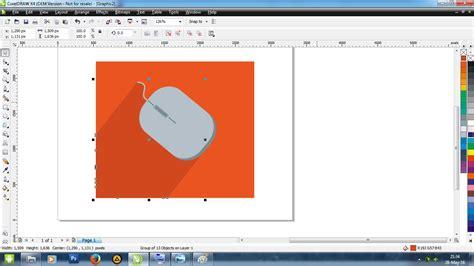 cara membuat background gambar transparan dengan corel cara membuat mouse flat ui dengan coreldraw lintas negri