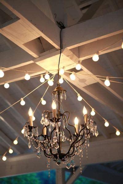 dancer in chandelier chandelier floor wedding reception