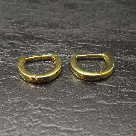 lucent yellow gold thin hoop earrings s hoop