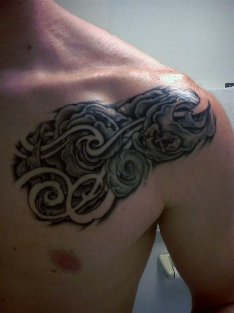 cloud tattoos for men 45 cloud tattoos meaning and designs gallery for and