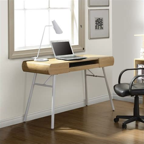 office desk delivered assembled techni mobili semi assembled contemporary computer desk in