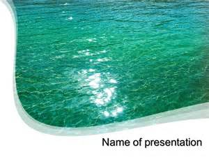 powerpoint templates water free blue water powerpoint template for your