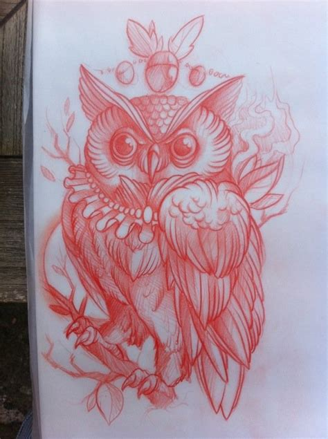 Tattoo Owl Sketch | owl tattoo sketch tattoo inspiration pinterest