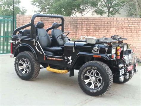 Modified Open Jeep Mitula Cars