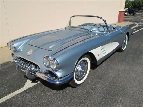 auto air conditioning service 1958 chevrolet corvette seat position control sell used 1958 chevrolet corvette in morristown tennessee united states for us 21 400 00