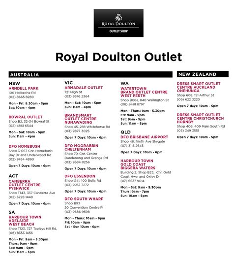 royal location royal doulton outlet locations royal doulton 174 outlet