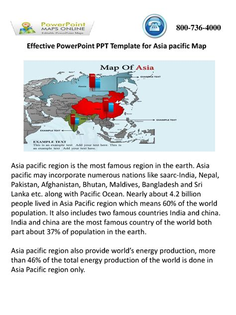 Effective Powerpoint Ppt Template For Asia Pacific Map Authorstream Effective Powerpoint Templates