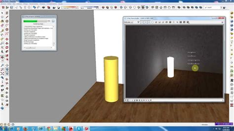 tutorial emissive vray sketchup materiales emisivos v ray su youtube