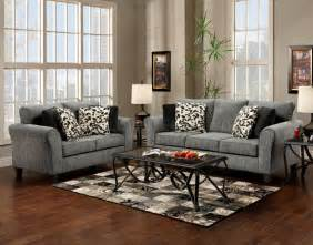 grey furniture living room grey fabric modern sofa loveseat set w options