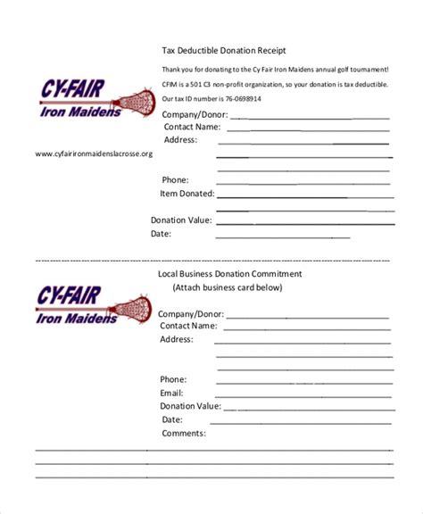 charitable donation receipt letter charitable contribution receipt