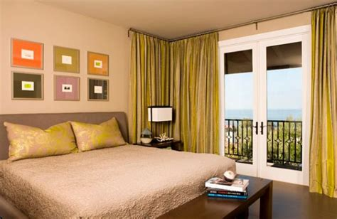orange and green bedroom 30 modern curtains to adorn your sliding glass doors in style