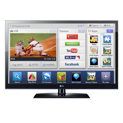 Tv 21 Inchi Lg lg infinia 42lv5500 42 inch 1080p 120 hz led hdtv the tech journal
