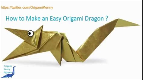 How To Make Origami Dragons - how to make a paper easy www imgkid the