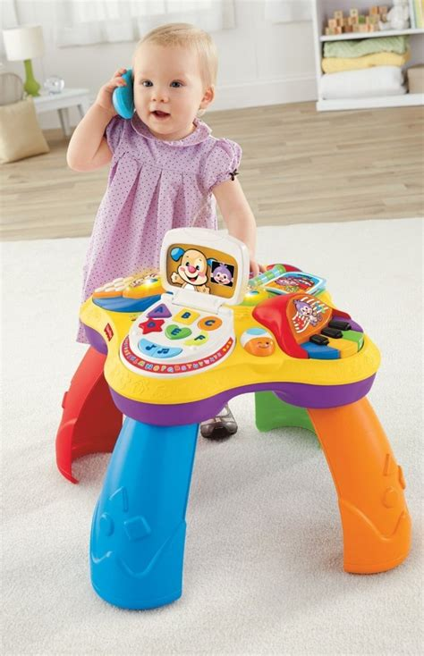 fisher price laugh learn puppy friends learning table fisher price laugh and learn puppy and friends learning table 24 99 lowest price