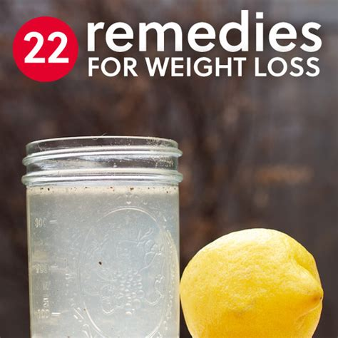 how to lose weight naturally home remedies