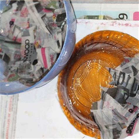 Steps In Paper Mache - 22 colorful paper mache bowls guide patterns
