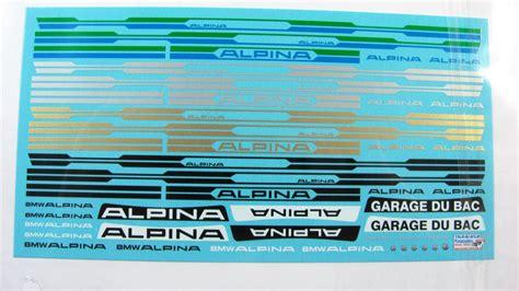 Bmw E34 Alpina Aufkleber by Bmw Alpina Stickers Satu Sticker