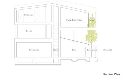 section 52 planning gallery of katsutadai house yuko nagayama associates 15