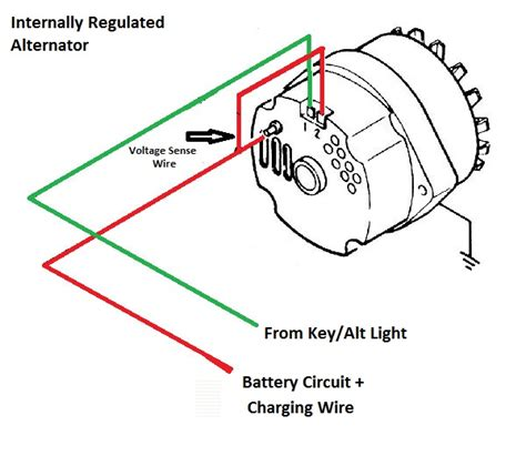 alternator wiring diagram chevy chevy alternator regulator wiring diagram get free image