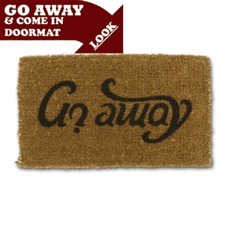 funny door mat 12 socially awkward doormats engineers need when they are