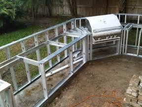 Diy outdoor kitchen frames home design ideas
