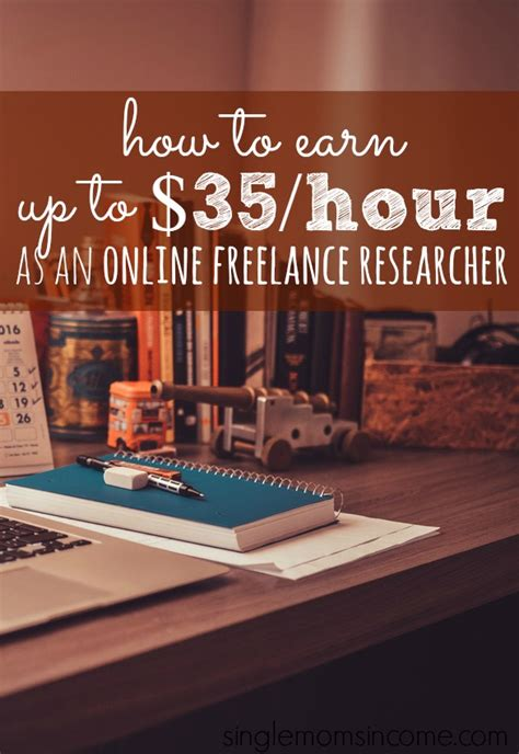 how to make money as a freelance researcher with single income