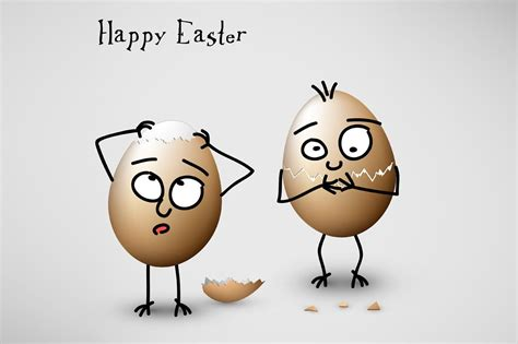 happy easter funny card card templates creative market
