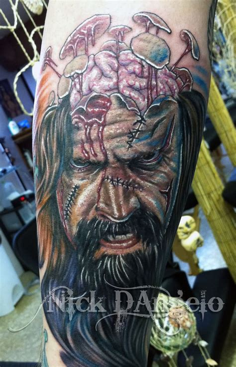 tattoo arm zombie zombie tattoo images designs