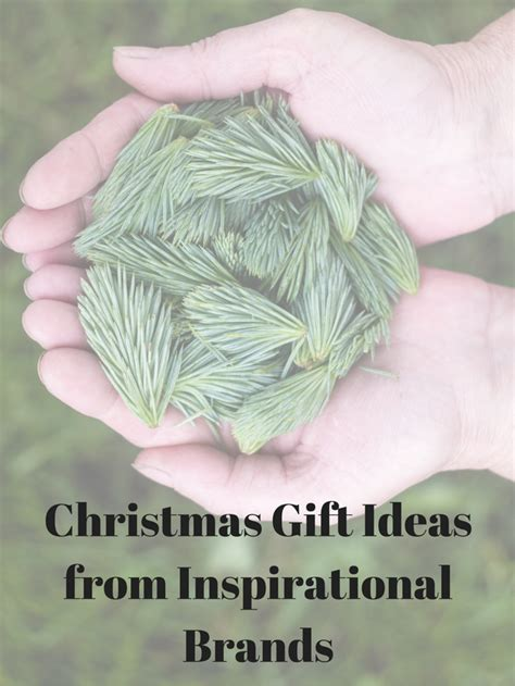 inspirational christmas gift gift ideas from inspirational brands