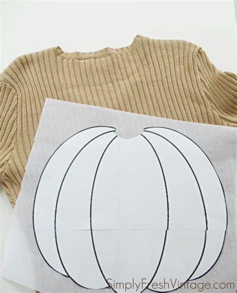 Pumpkin Pillow Pattern by Patchwork Pumpkin Pillow