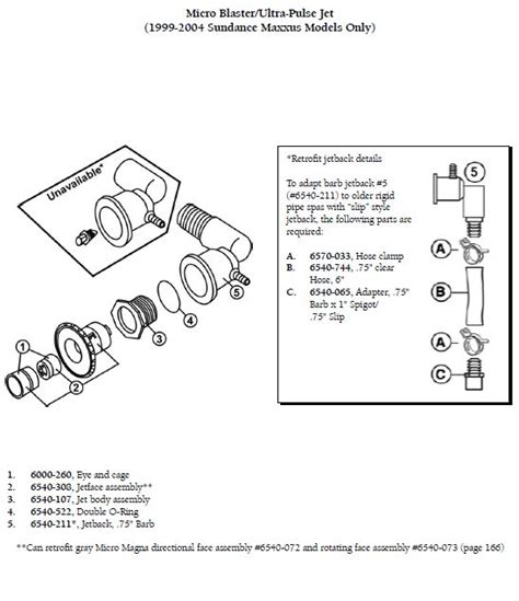 sundance spa parts diagram sundance spa jet eyeball and cage the spa works