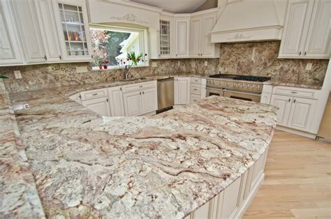 Kitchen Islands Table by Typhoon Bordeaux Granite With Full Backsplash