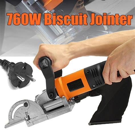 760w Electric Dowel Biscuit Jointer Tool Woodworking