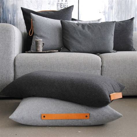 cushions for grey sofa ideas about nothing cotton canvas and leather handle