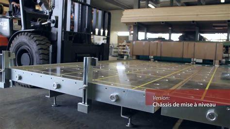 table de en bois table de montage ossature bois woodtec