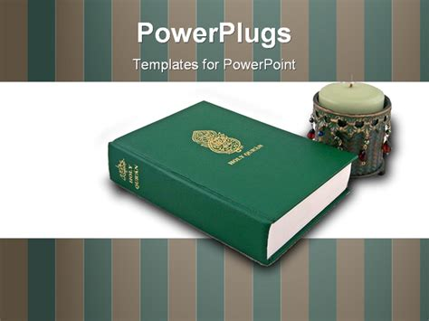 powerpoint templates quran the holy quran the muslim holy book powerpoint template