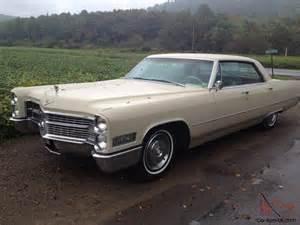 1966 Cadillac Specs 1966 Cadillac Sedan