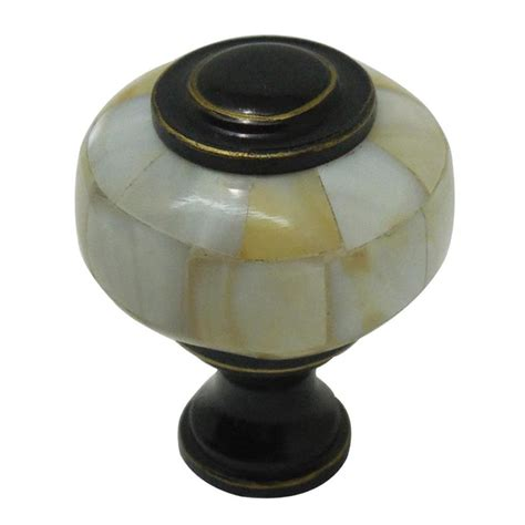 Knobs Lowes by Shop Style Selections Bronze Cabinet Knob At Lowes