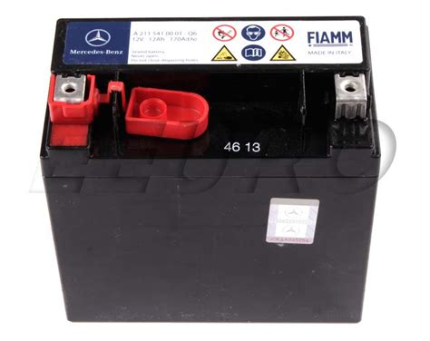 mercedes auxiliary battery 2115410001 genuine mercedes auxiliary battery sbc