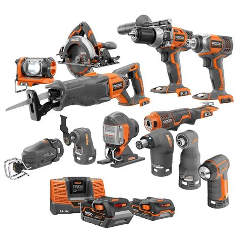 Punch Home Design Power Tools by Ridgid X4 18 Volt Lithium Ion Cordless Ultimate Contractor