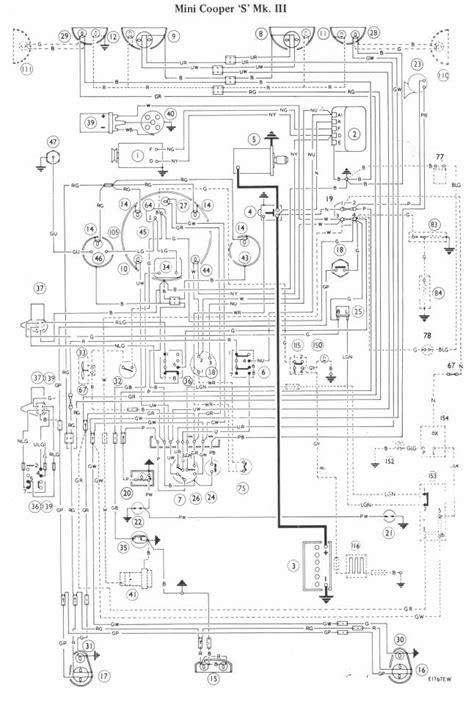 Free Auto Wiring Diagram: Mini Cooper S Mark III Wiring