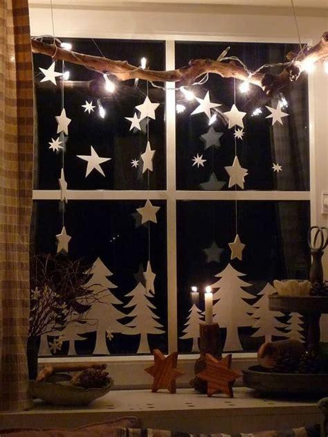 Fensterdekoration Weihnachten Bilder by 220 Ber 1 000 Ideen Zu Fensterdeko Auf