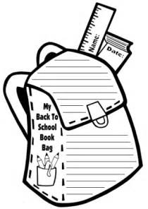 school book template book bag templates back to school printable worksheets