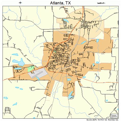 atlanta texas map atlanta on the map afputra
