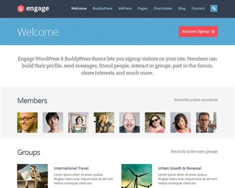buddypress template buddypress template 28 images set up your own