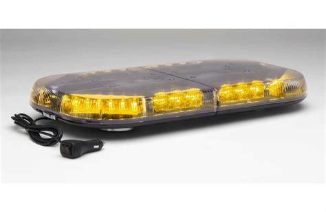 whelen led light bar whelen mini justice led lightbar magnetic mount mjeg1a